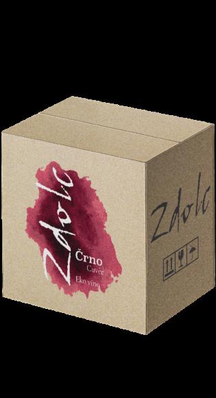 Zdolc Črno cuvee karton/box (12 boca) je vino za svaki dan - prohlađeno paše samo ili kao bevanda