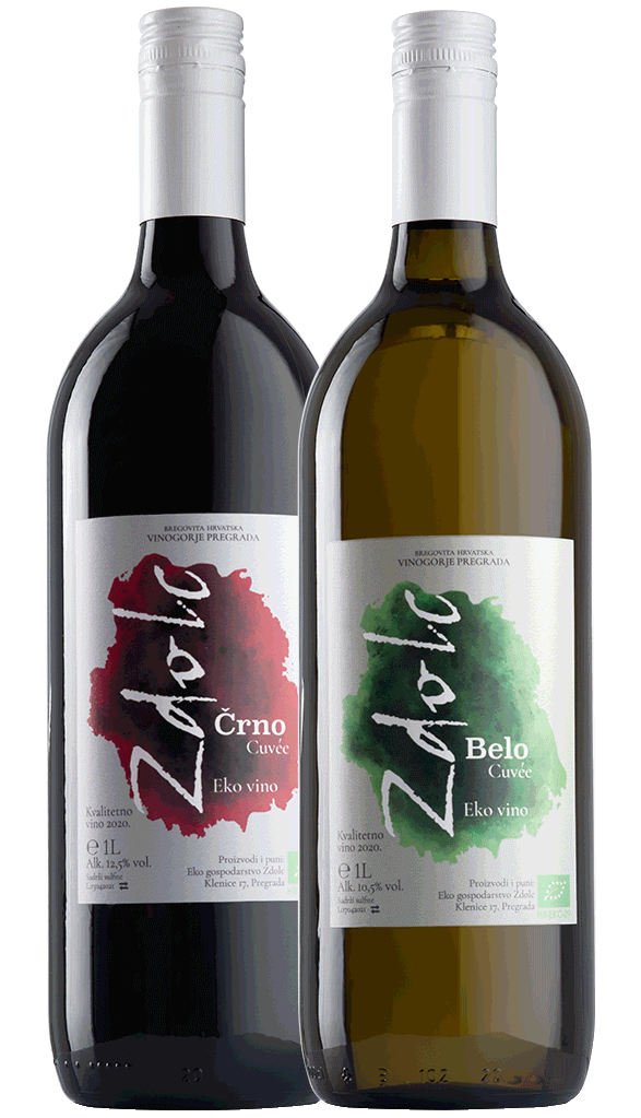 zdolc crno i belo cuvee vino